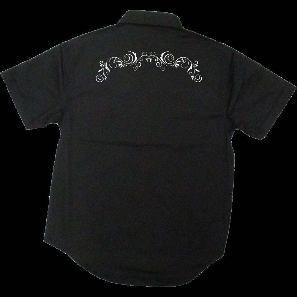 シンプル デザイン T/Cワークシャツ