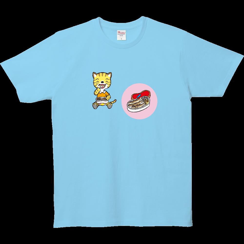 おべんとうTシャツ、猫さんのお弁当。 5.0オンス ベーシックTシャツ(キッズ)