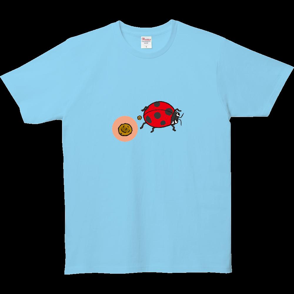 うんちTシャツ、てんとう虫のうんち 5.0オンス ベーシックTシャツ(キッズ)