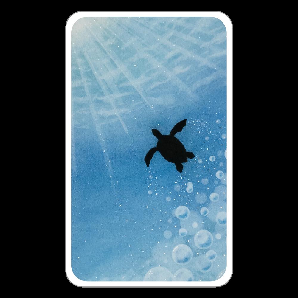 ホヌ(ウミガメ) フラットパスケース