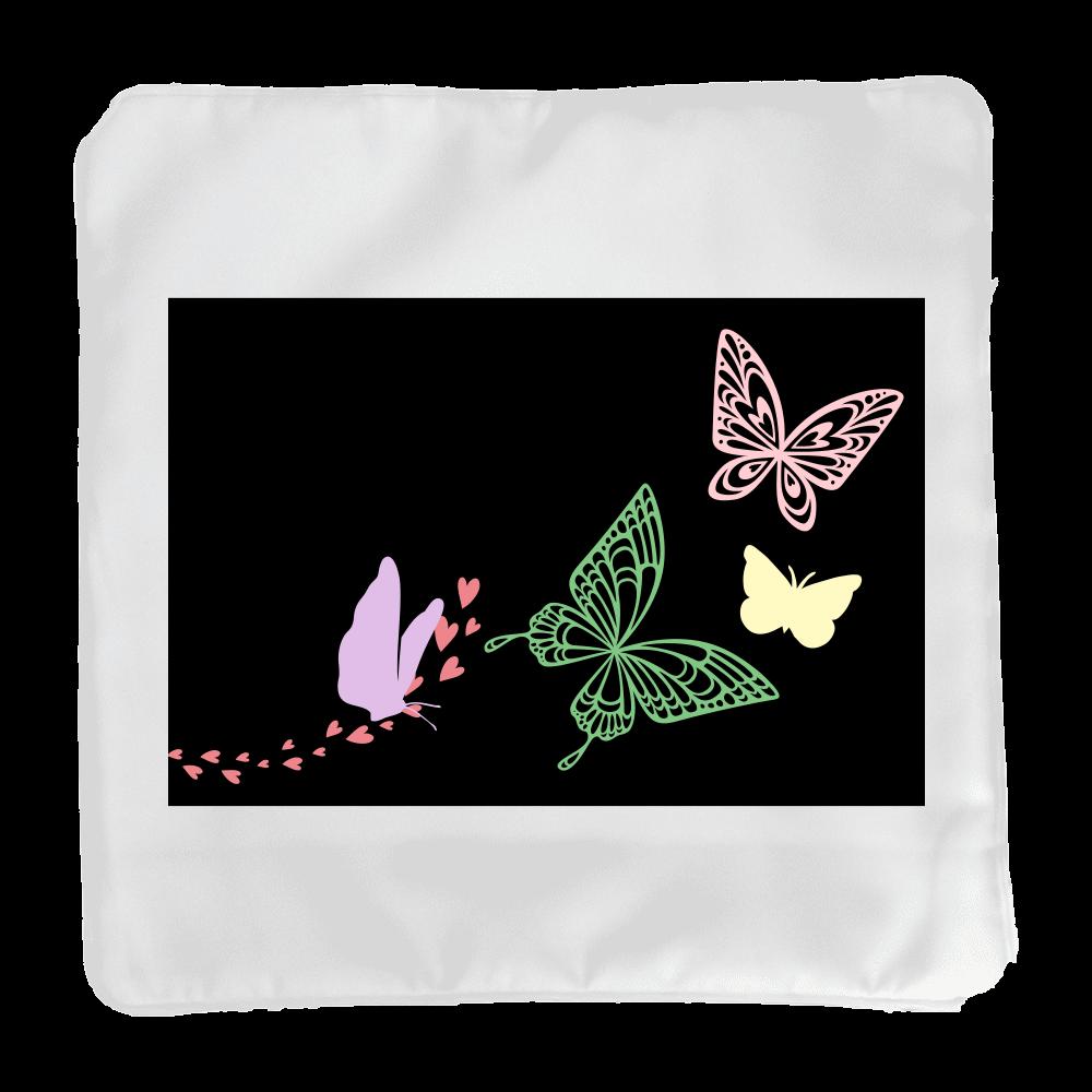 Butterfly クッションカバー(小)カバーのみ