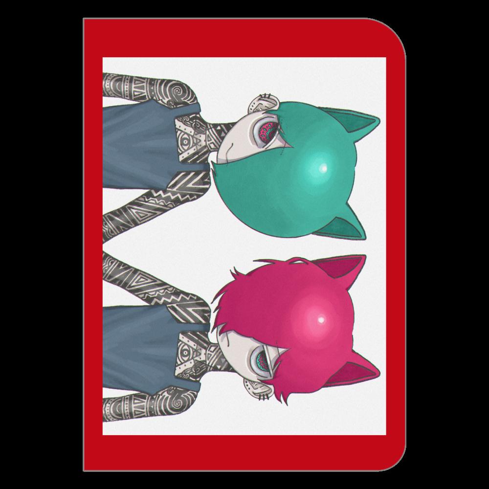 双子 ハードカバーポケットノート