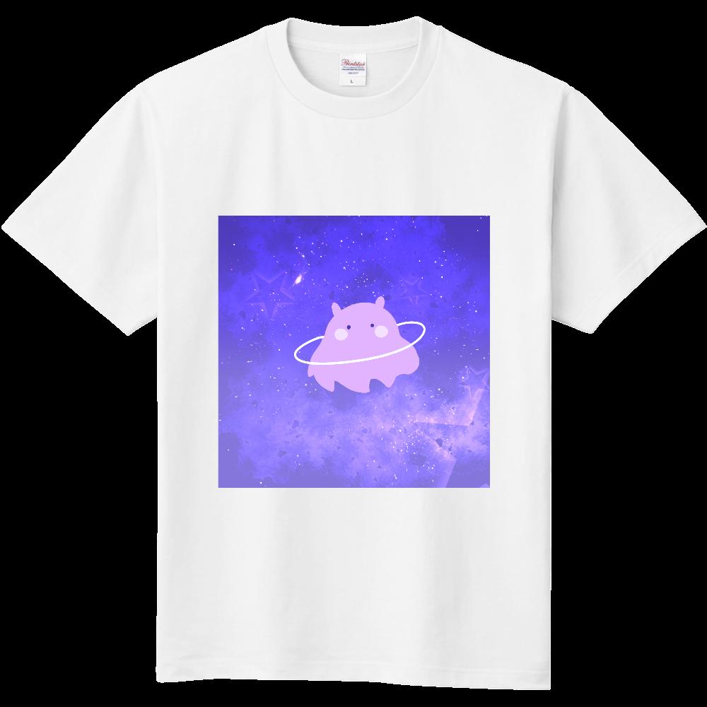 きらきらの宇宙とかわいいめんだこさん 定番Tシャツ
