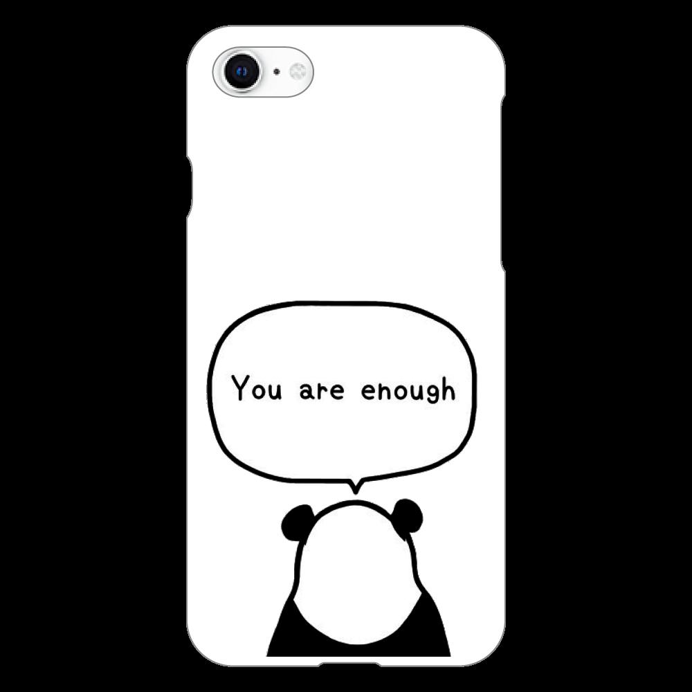 パンダの後ろ姿 iphoneSE2(白)