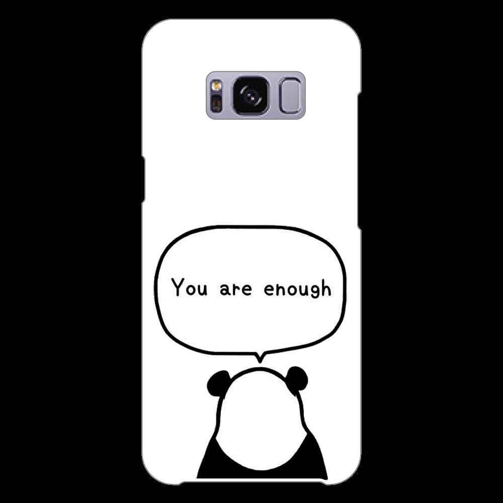 パンダの後ろ姿 Galaxy S8 (SC-02J)(白)