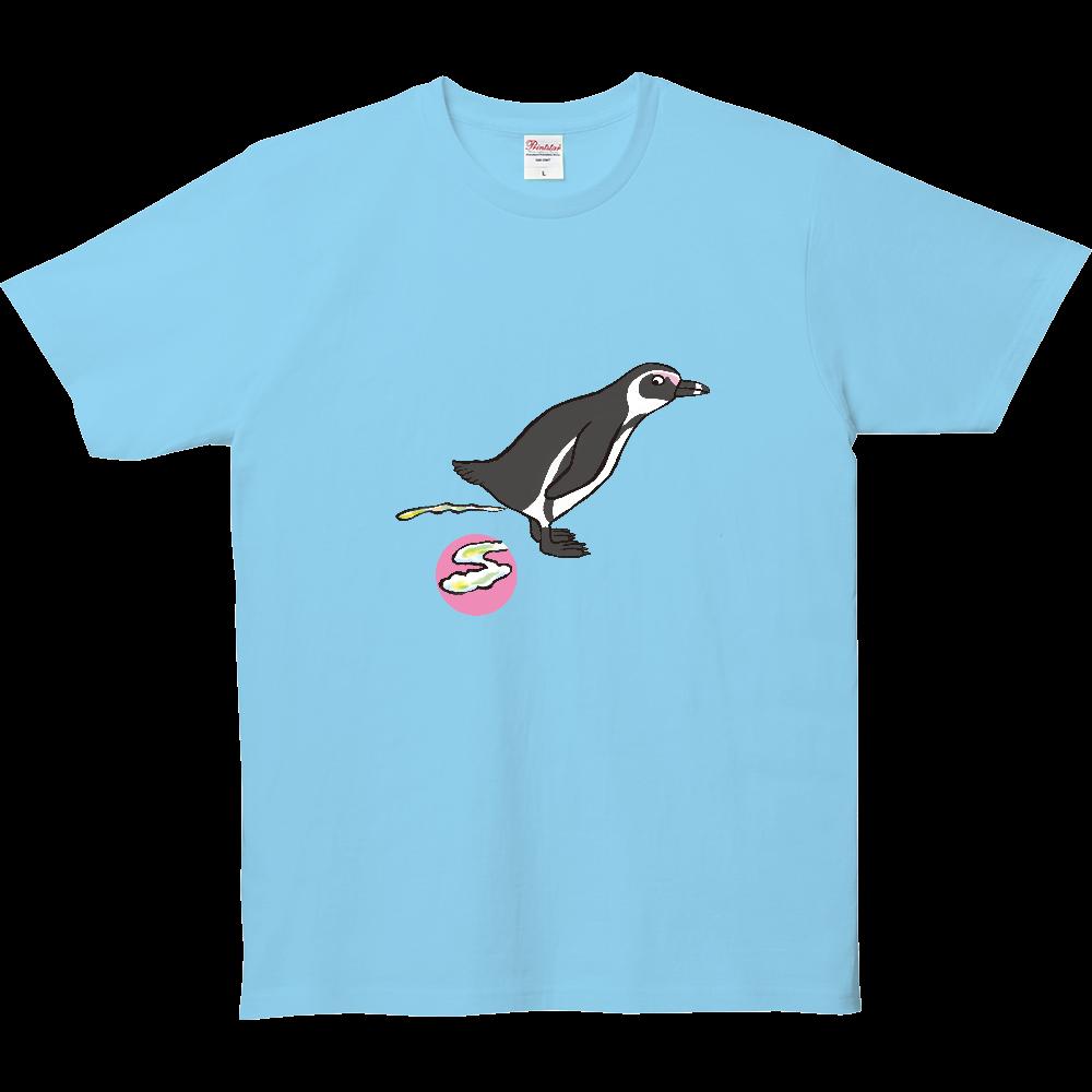 ウンチTシャツ、ペンギン 5.0オンス ベーシックTシャツ(キッズ)