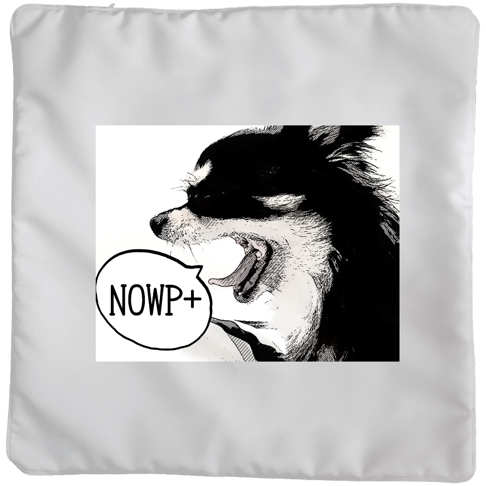 NOWP+オリジナルクッションカバー(大サイズ) クッションカバー(大)カバーのみ