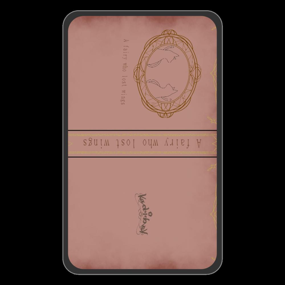 【伽よう日】背表紙デザイン パスケース フラットパスケース