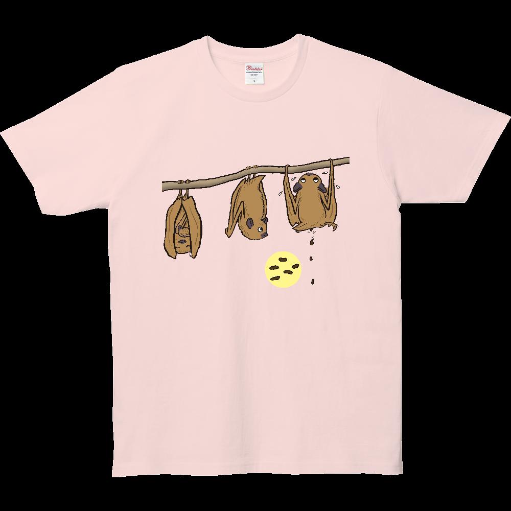 ウンチTシャツシリーズ、コウモリ 5.0オンス ベーシックTシャツ(キッズ)