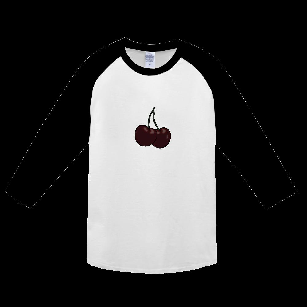 アメリカンチェリーTシャツ ヘビーウェイトベースボールTシャツ