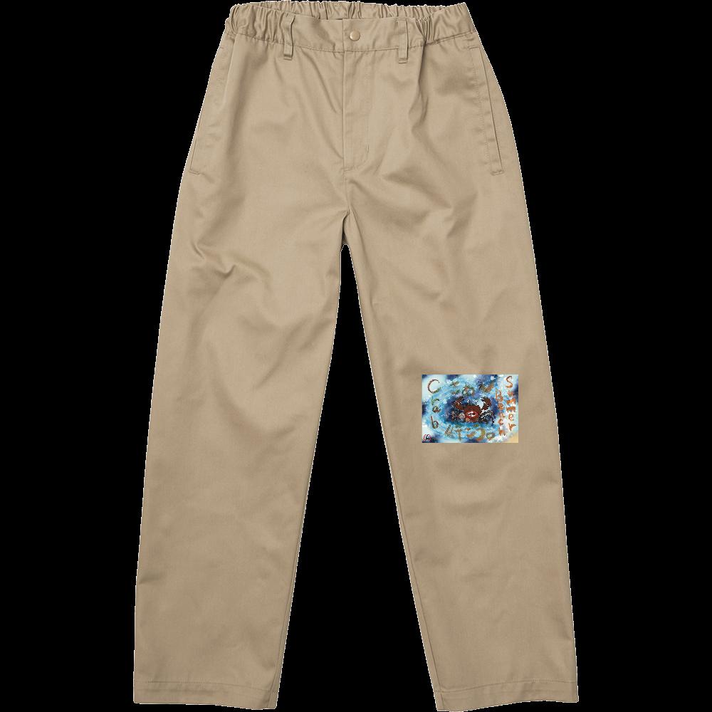 夏のビーチ「カニ」 ORILAB MARKET.Version.3 T/Cイージー パンツ