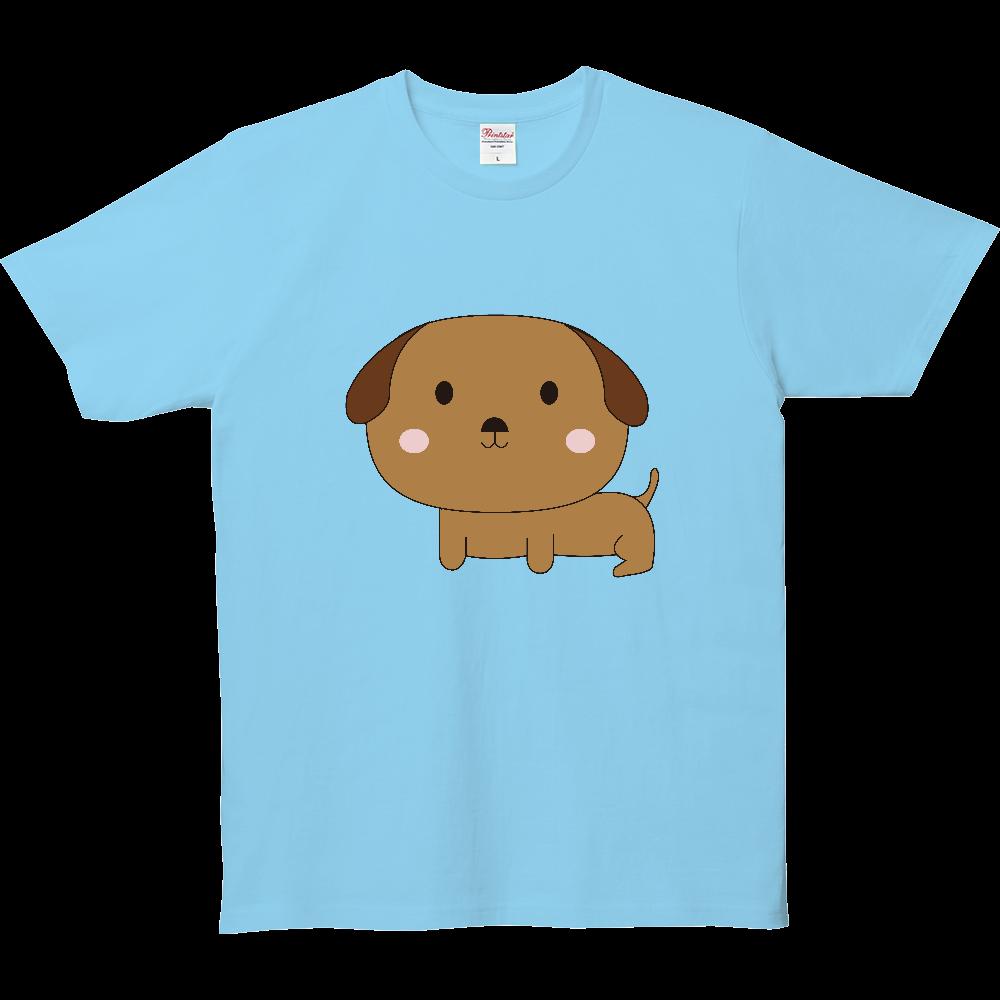 頭でかっち犬 5.0オンス ベーシックTシャツ(キッズ)