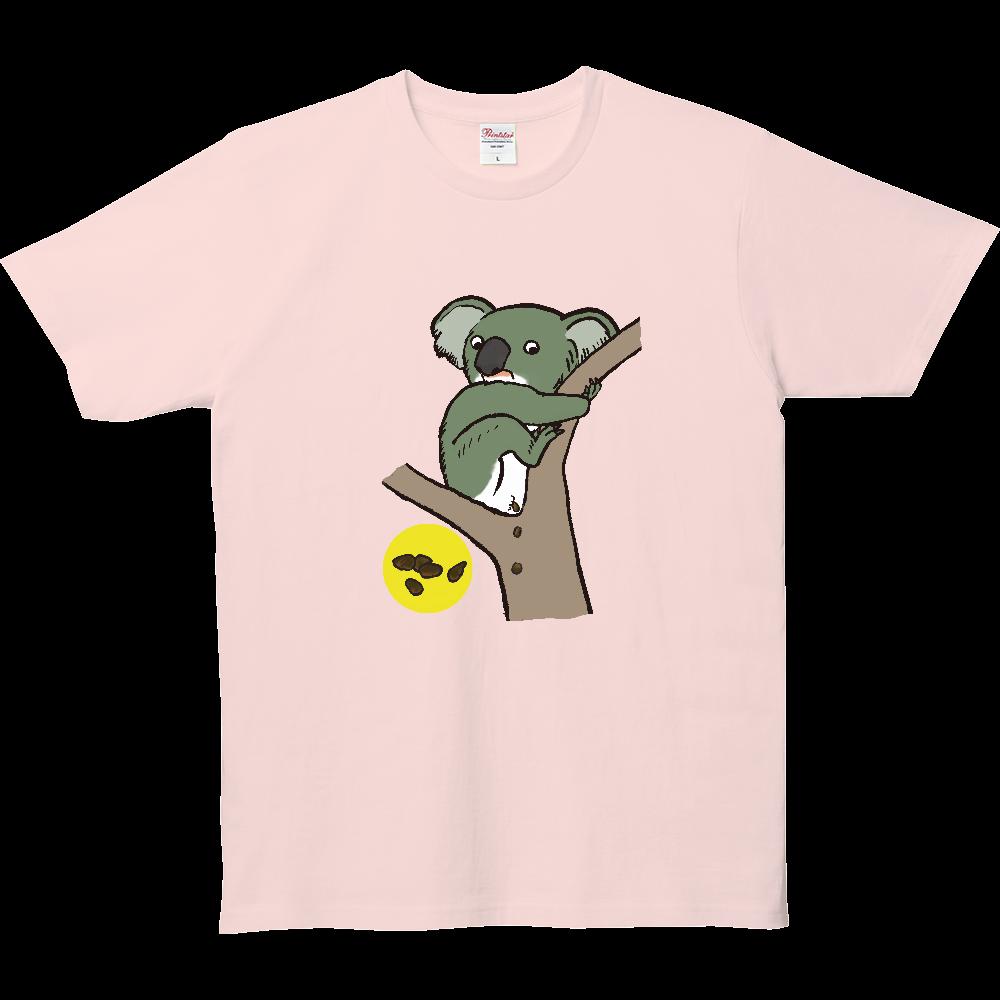 ウンチTシャツシリーズ、コアラ 5.0オンス ベーシックTシャツ(キッズ)