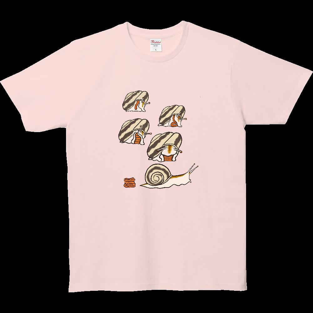 ウンチTシャツシリーズ、カタツムリ 5.0オンス ベーシックTシャツ(キッズ)