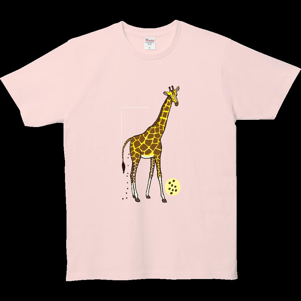 ウンチTシャツシリーズ、キリン 5.0オンス ベーシックTシャツ(キッズ)