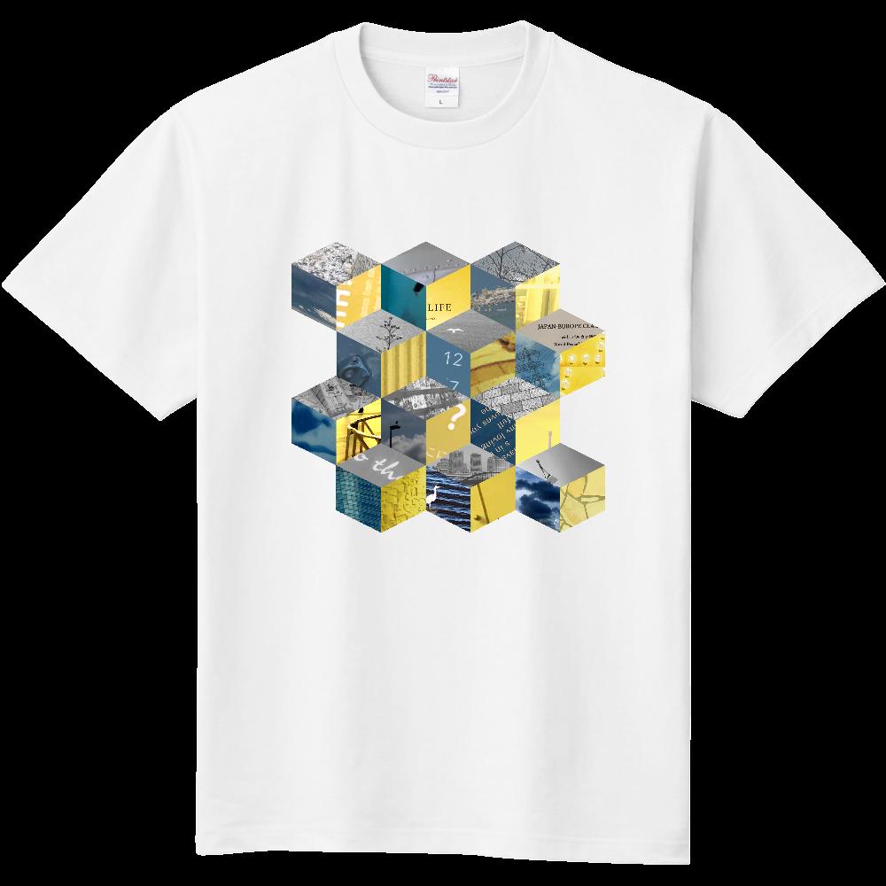 「キューブ コラージュ」Tシャツ 定番Tシャツ