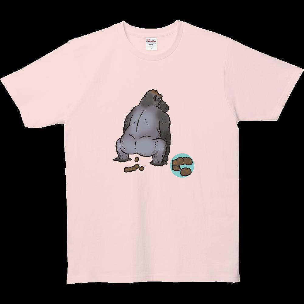 ウンチTシャツシリーズ、ゴリラ 5.0オンス ベーシックTシャツ(キッズ)