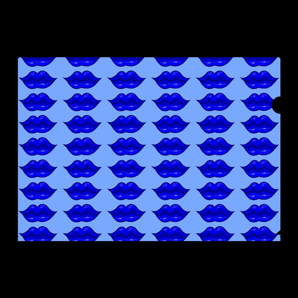 ブルーリップ A4フルグラフィッククリアファイル