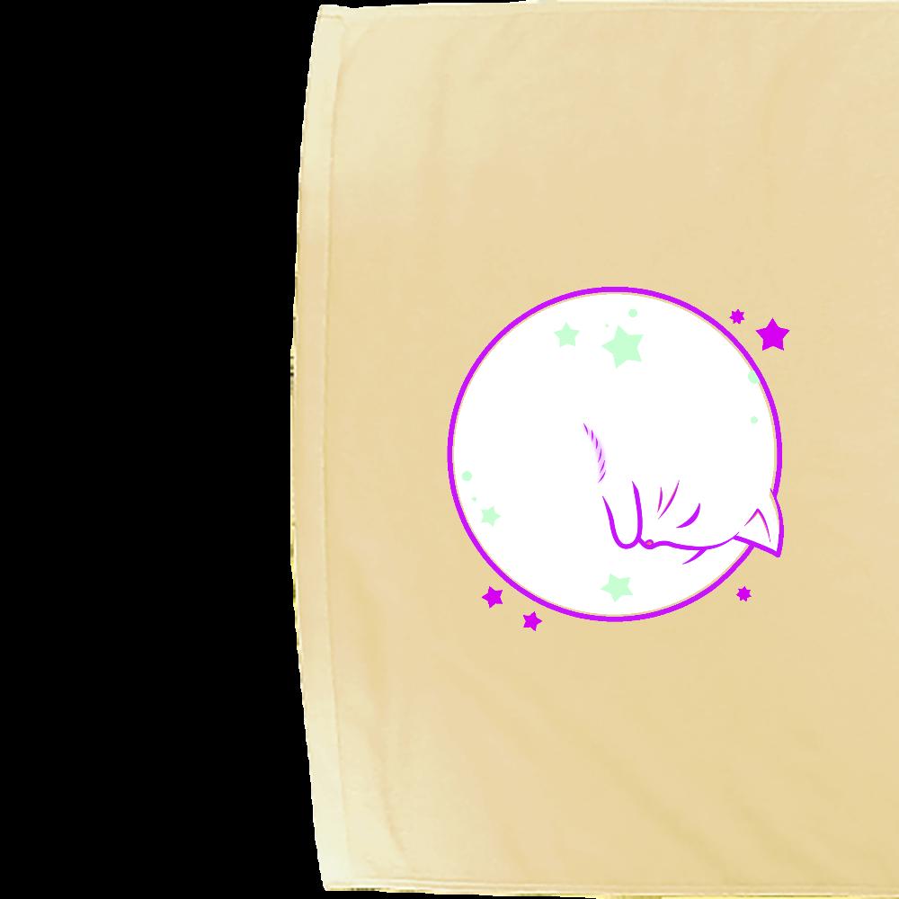 アンモナ(ニャ)イト・黒 シャーリングバスタオル シャーリングバスタオル