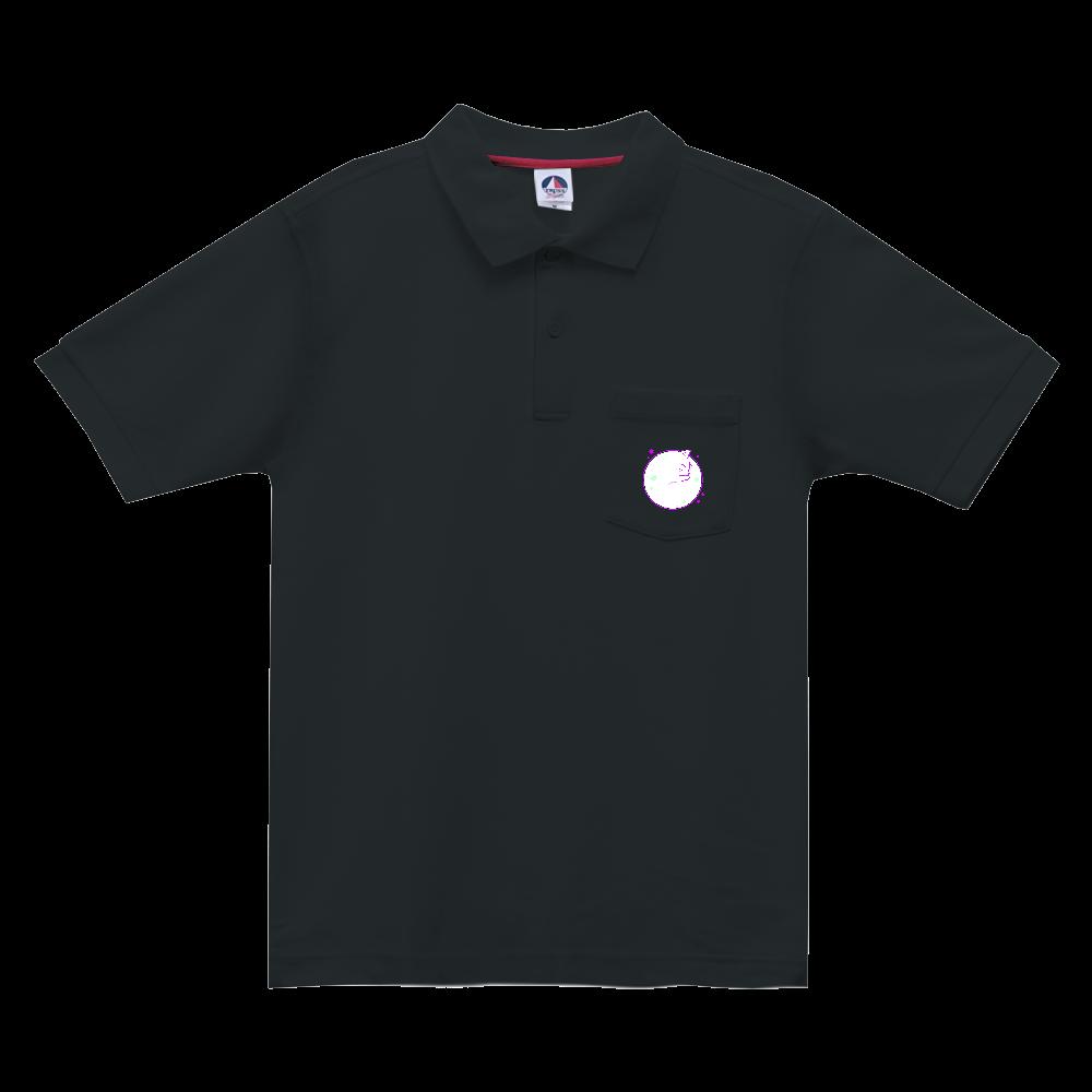アンモナ(ニャ)イト・白 ベーシックスタイルポロシャツ(ポケット付) ベーシックスタイルポロシャツ(ポケット付)