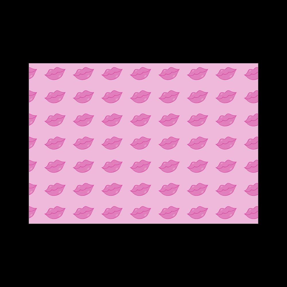 斜めくちびる パープル ブランケット - 700 x 1000 (mm) - ポリエステル