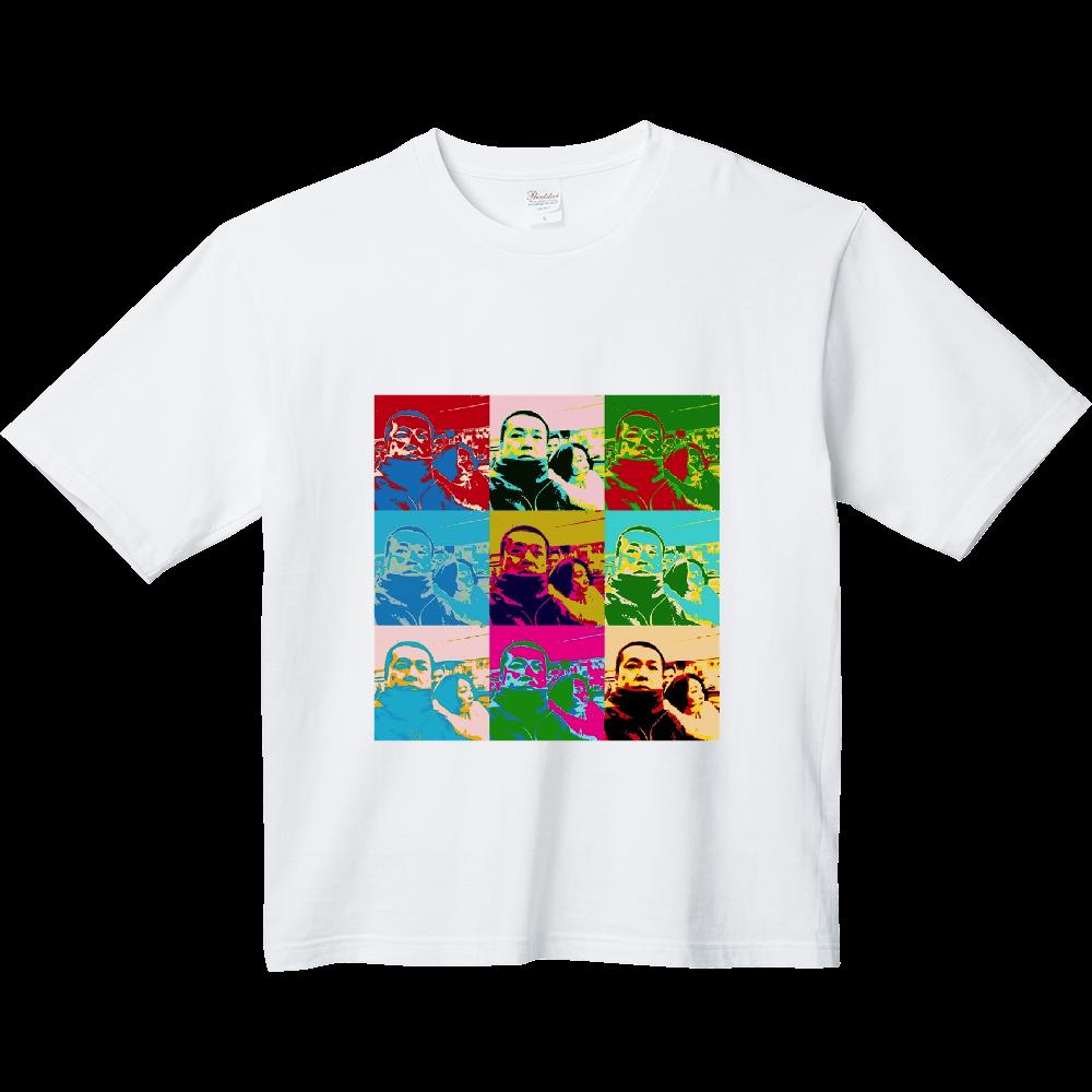 B&S AGENT オフィシャルグッズ ヘビーウェイト ビッグシルエットTシャツ