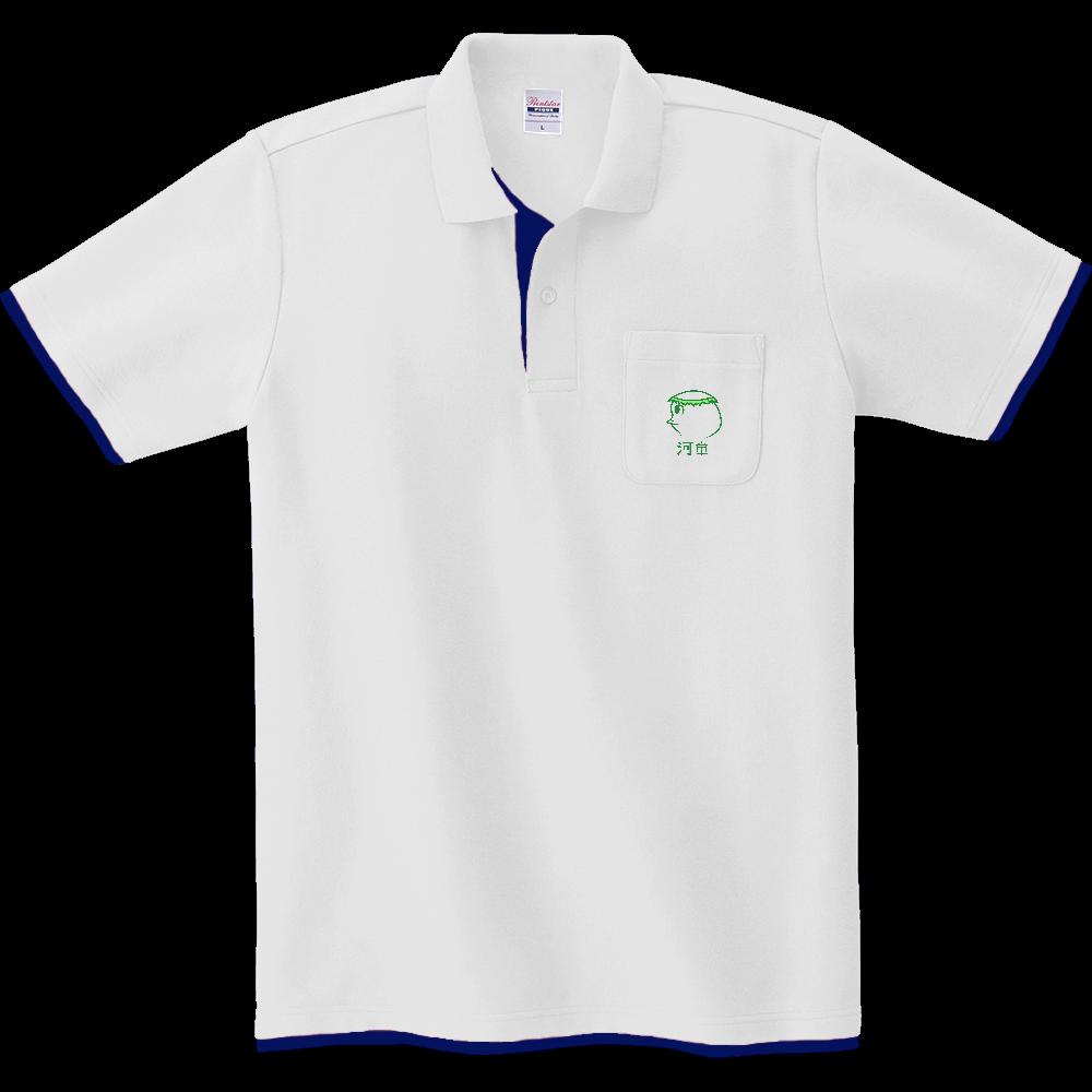 河童~昭和style~ レイヤードポロシャツ レイヤードポロシャツ