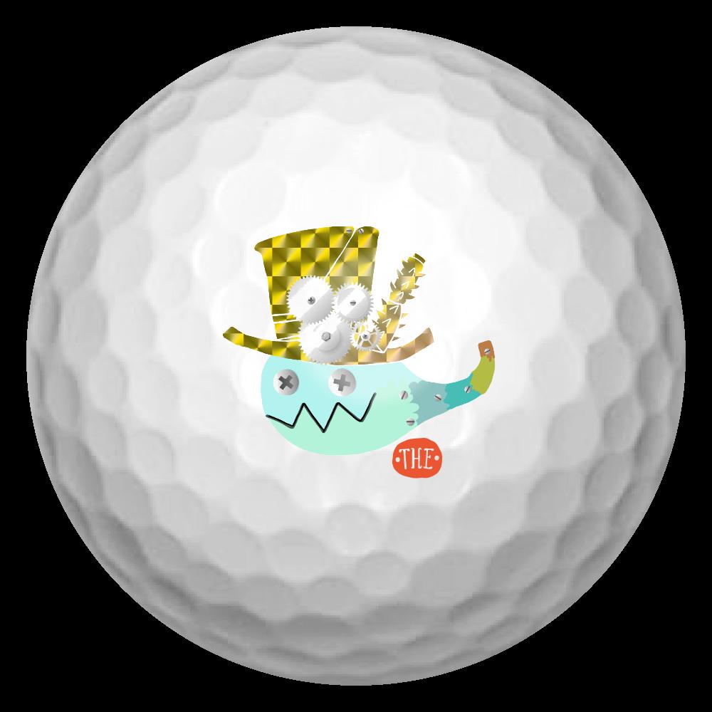 お化けちゃんのゴルフボール ゴルフボール(3個セット)