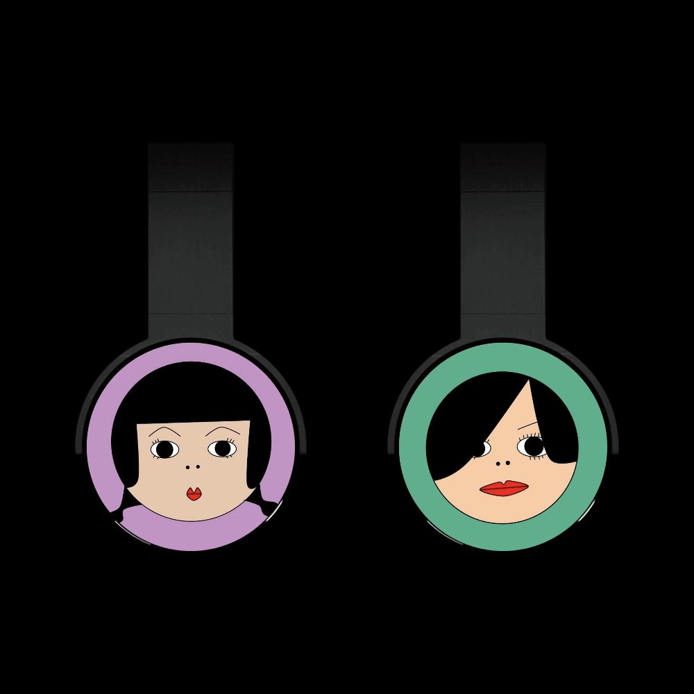 Girls Bluetoothヘッドフォン