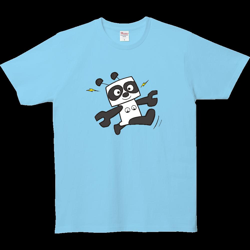 なんだ?パンダ?パンダなんだ。ロボットパンダ。 5.0オンス ベーシックTシャツ(キッズ)