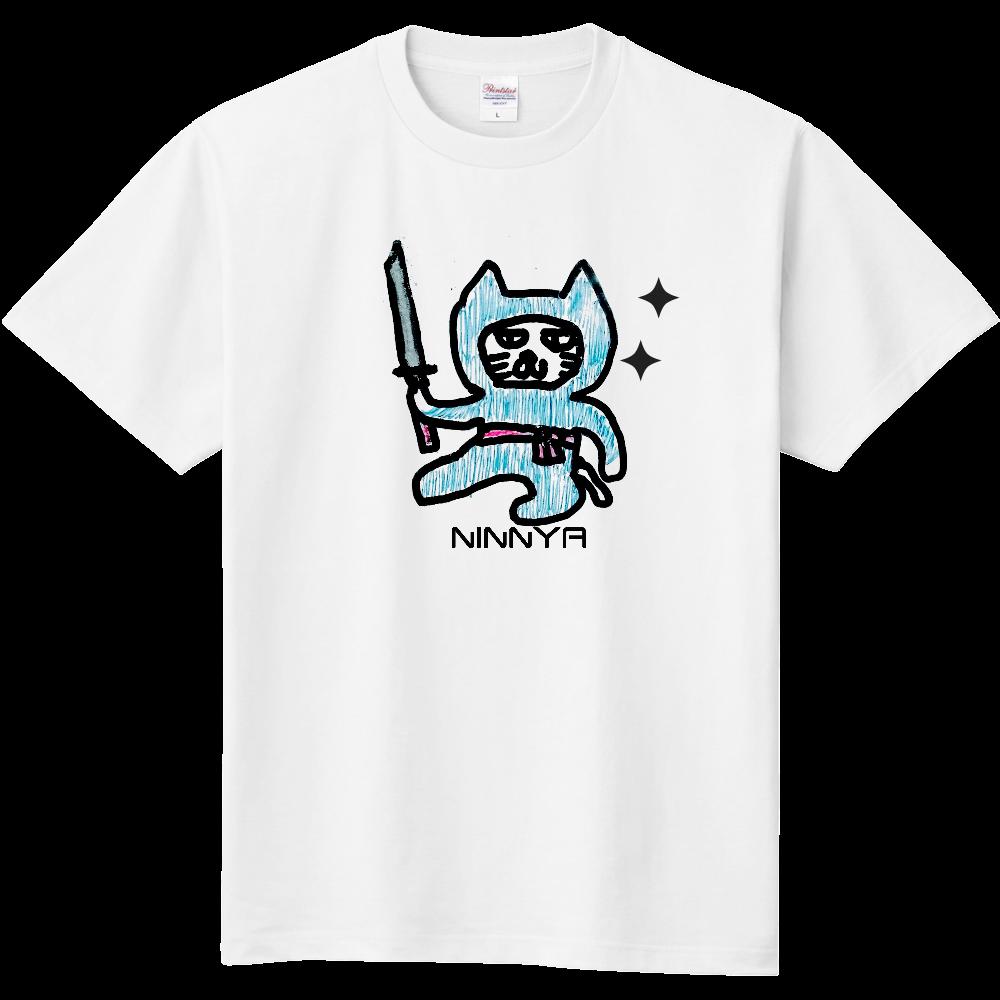忍者猫 キッズTシャツ