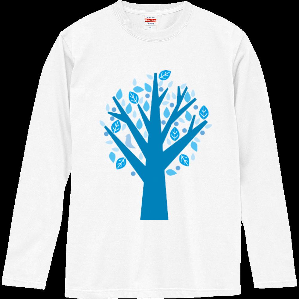 冬カラーツリー ロングスリーブTシャツ