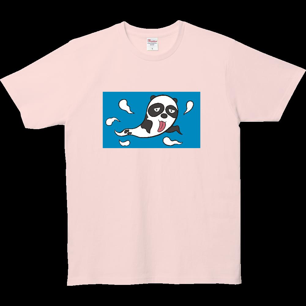 パンダTシャツシリーズ、おばけパンダ 5.0オンス ベーシックTシャツ(キッズ)