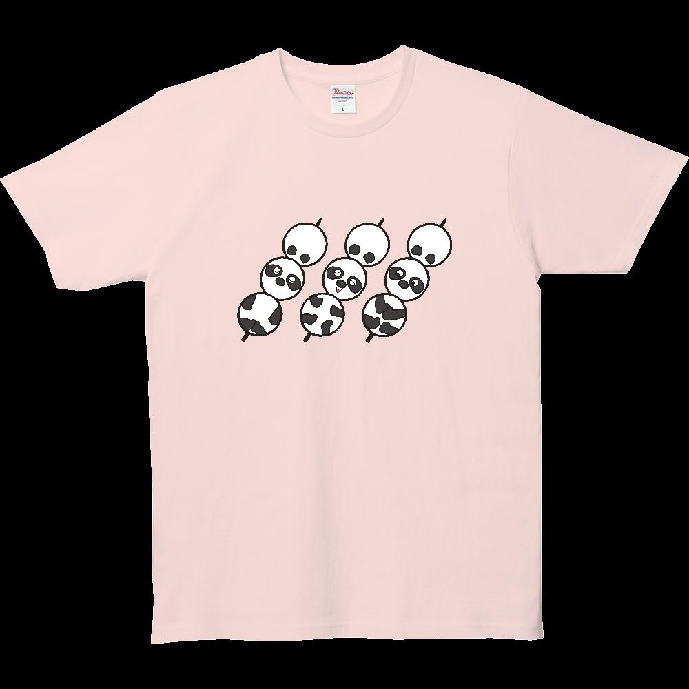 パンダTシャツシリーズ、お団子パンダ 5.0オンス ベーシックTシャツ(キッズ)