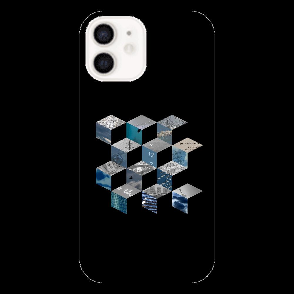 「キューブ コラージュ」スマホケース iPhone12