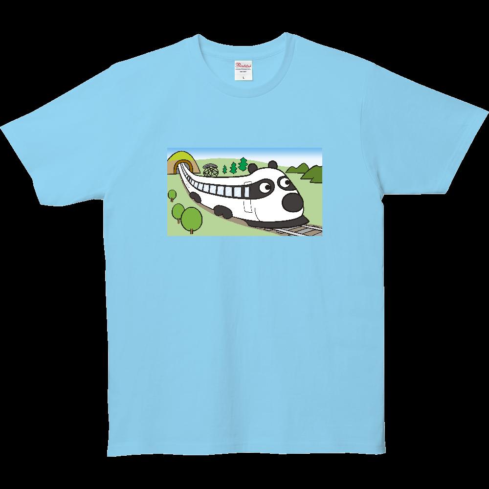 パンダTシャツシリーズ、とっきゅうパンダ 5.0オンス ベーシックTシャツ(キッズ)