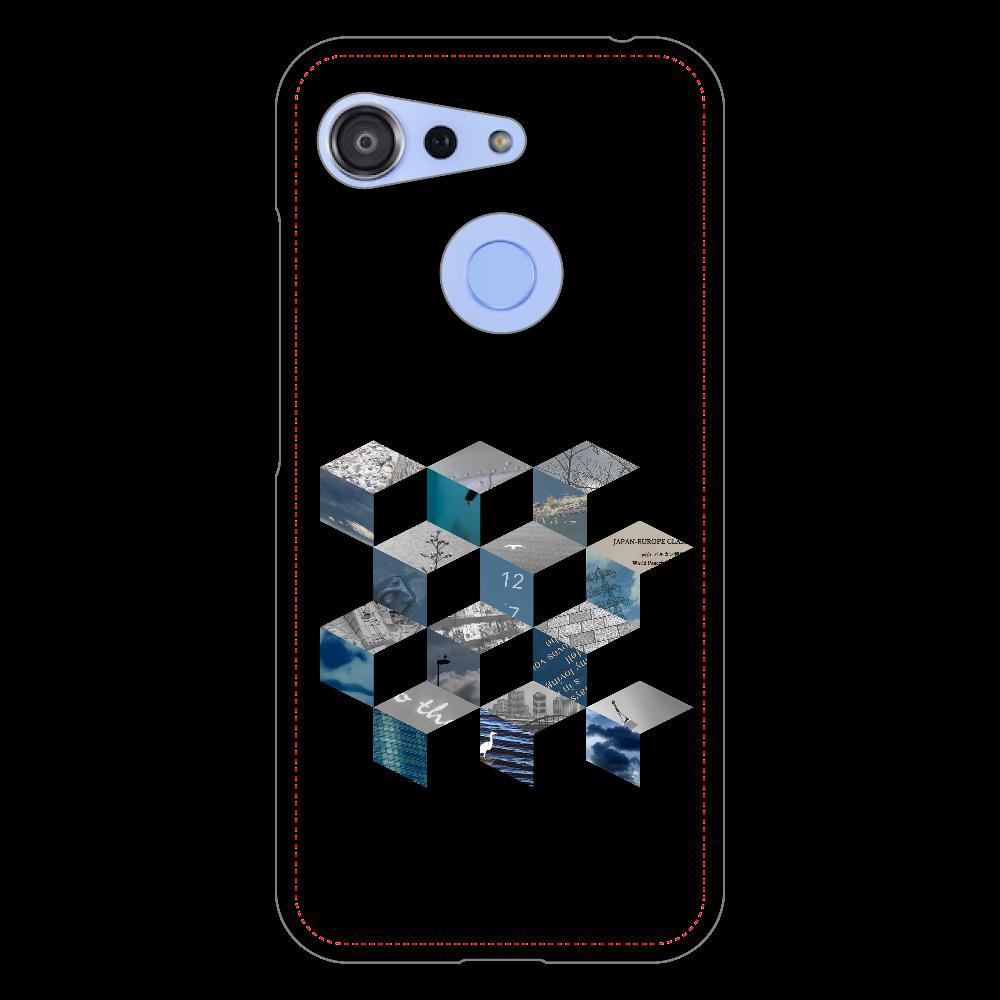 「キューブ コラージュ」スマホケース Android One S6 ハードケース