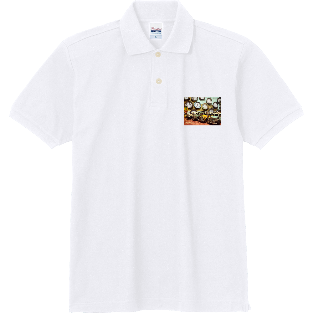 オシムラブランド 定番ポロシャツ