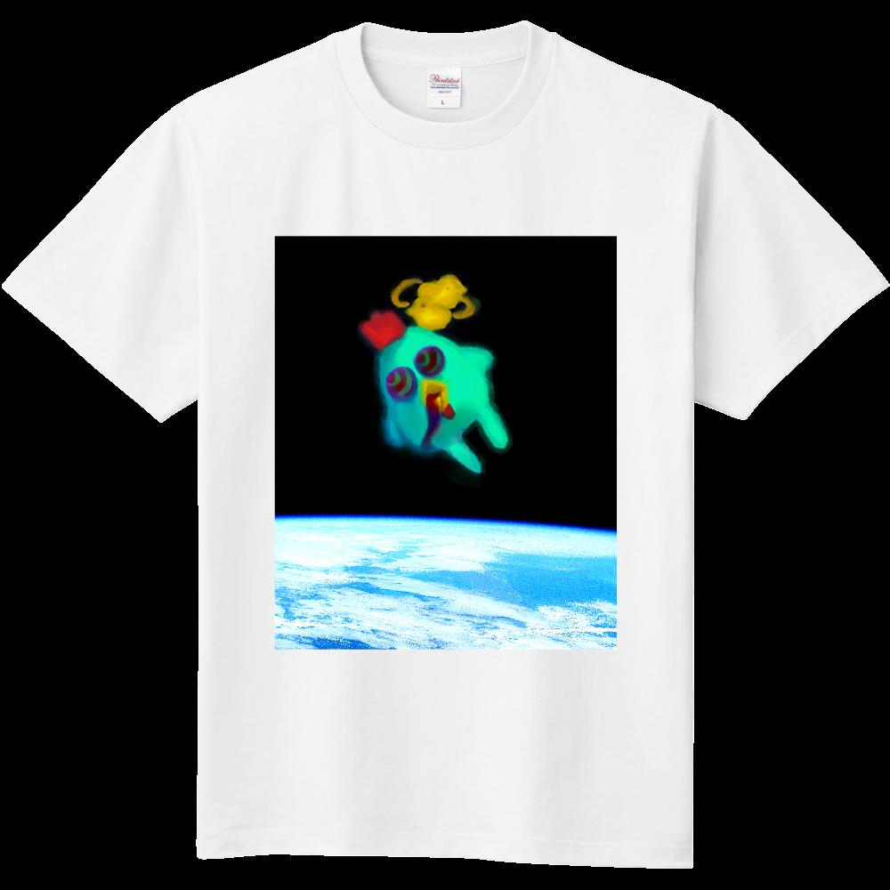 宇宙トリップにわとり 定番Tシャツ