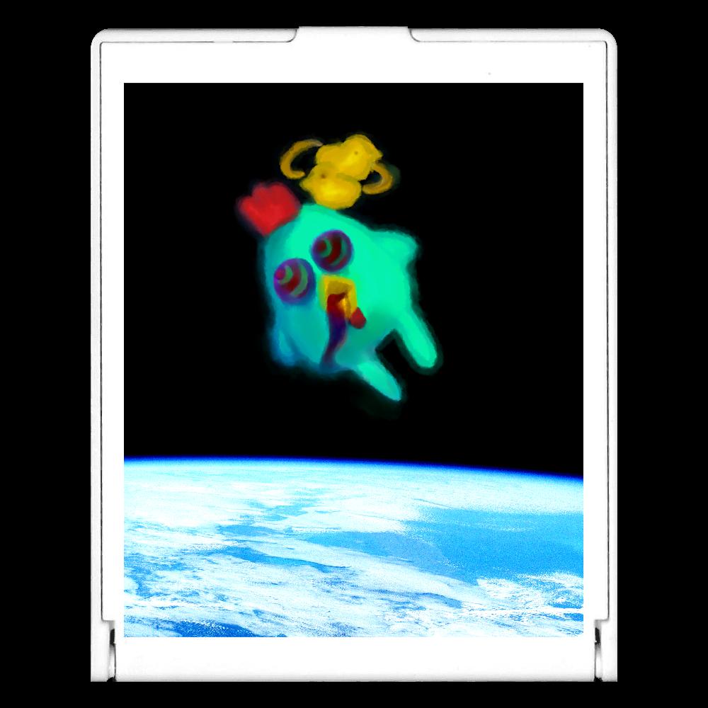 宇宙トリップにわとり スクエアミラー