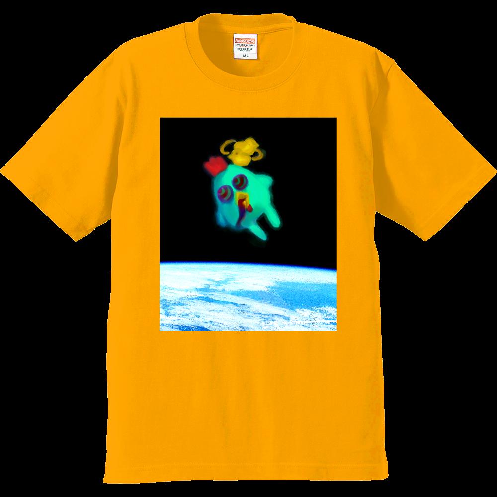 宇宙トリップにわとり プレミアムTシャツ