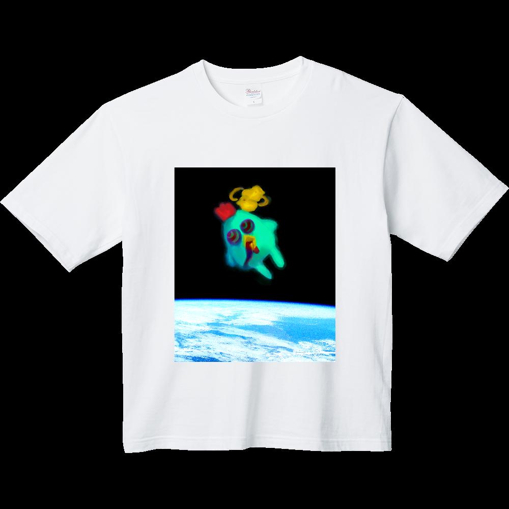宇宙トリップにわとり ヘビーウェイト ビッグシルエットTシャツ