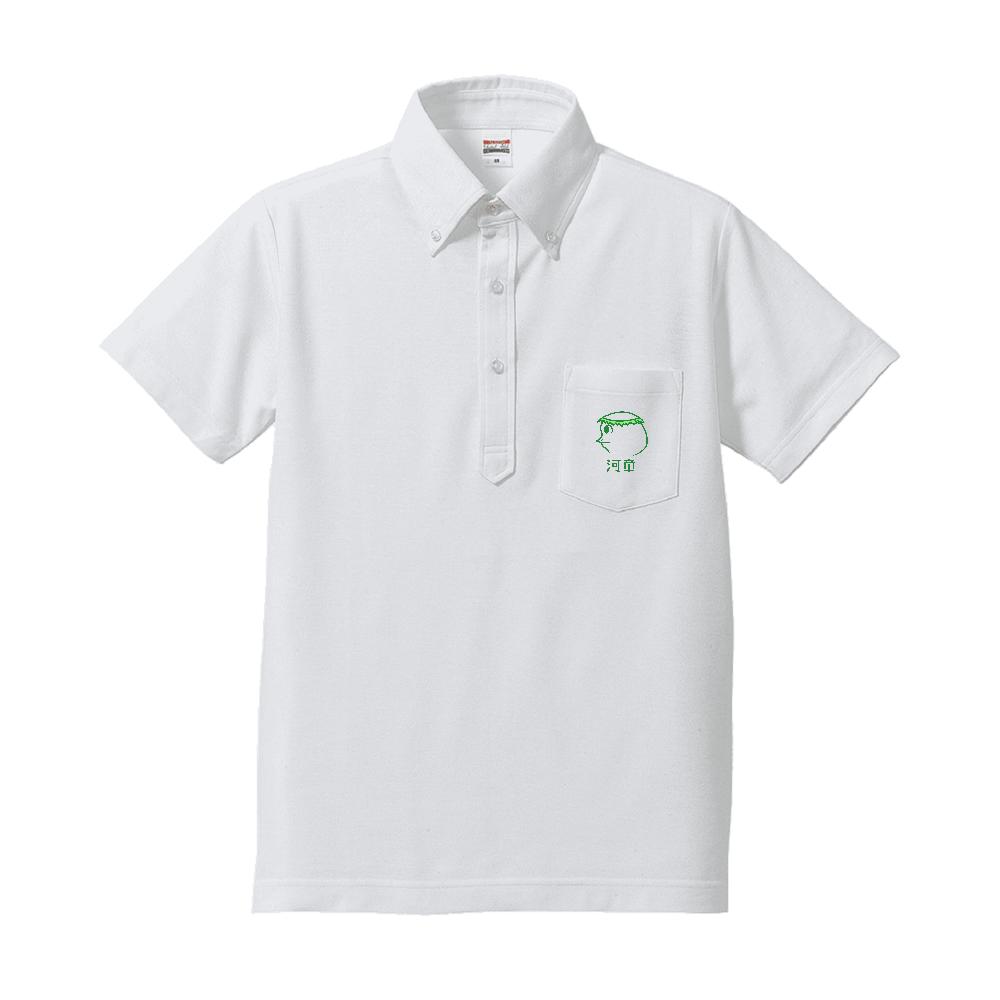 河童~昭和style~ ドライカノコユーティリティーポケットポロシャツ ドライカノコユーティリティーポケットポロシャツ