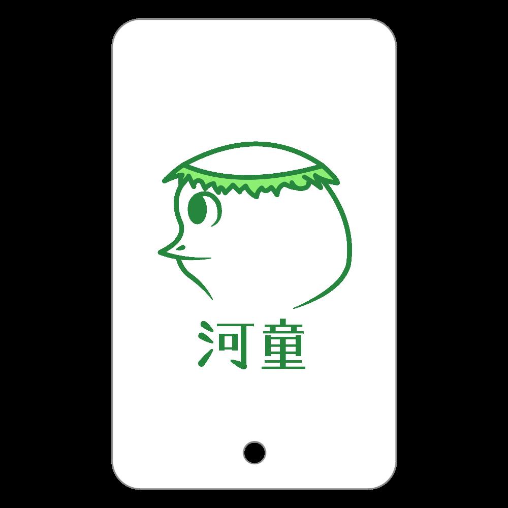 河童~昭和style~ フラットパスケース フラットパスケース