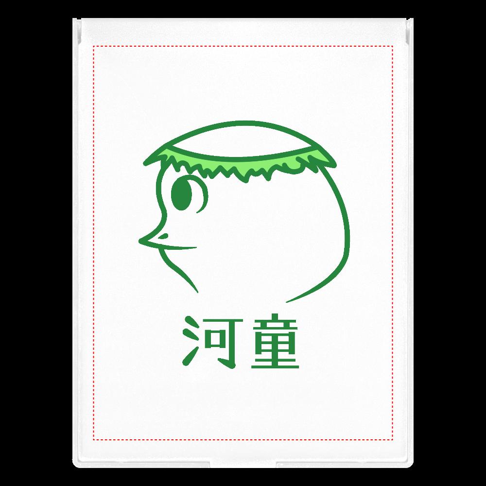 河童~昭和style~ フロストスクエアミラー(L) フロストスクエアミラー(L)