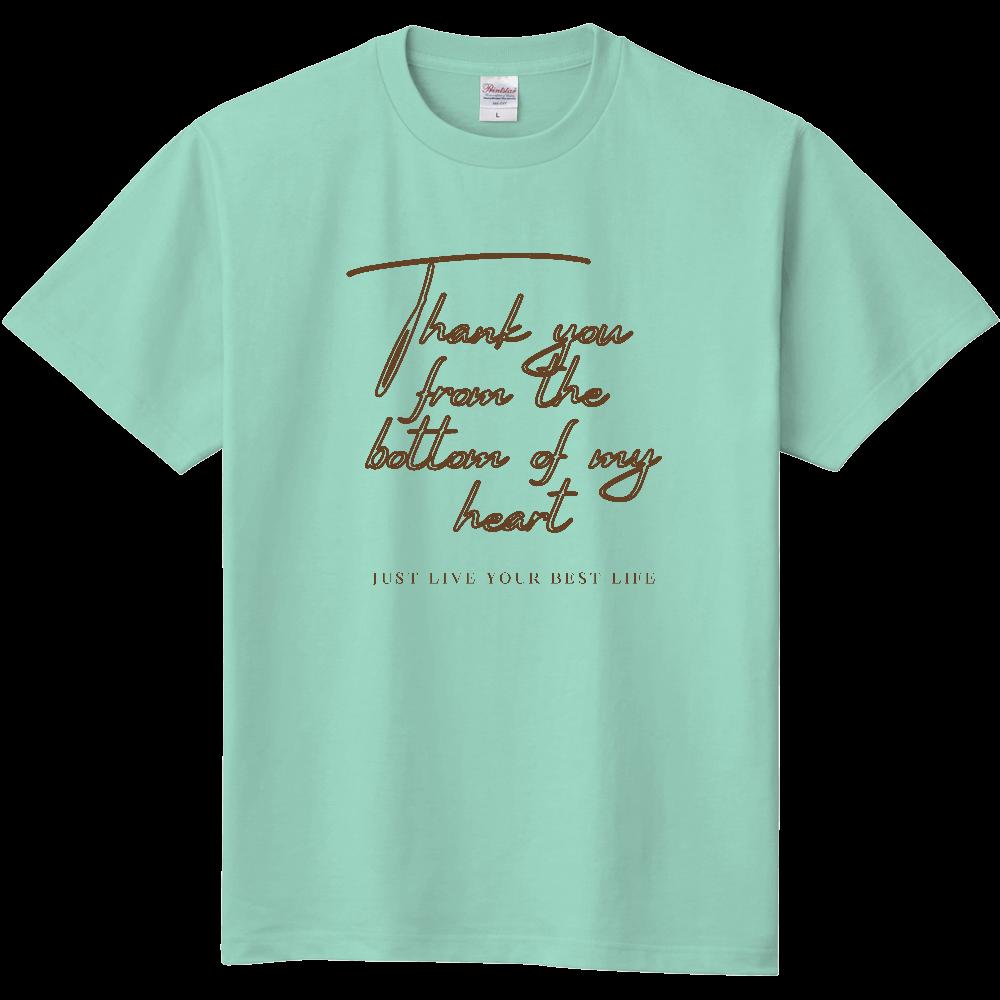 心より感謝申し上げます 定番Tシャツ