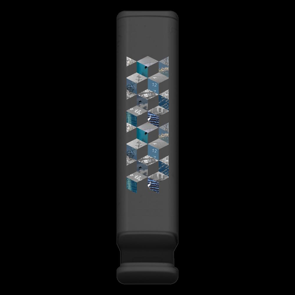 「キューブ コラージュ」スマホスタンド付モバイルバッテリー スマホスタンド付モバイルバッテリー(2200mAh)
