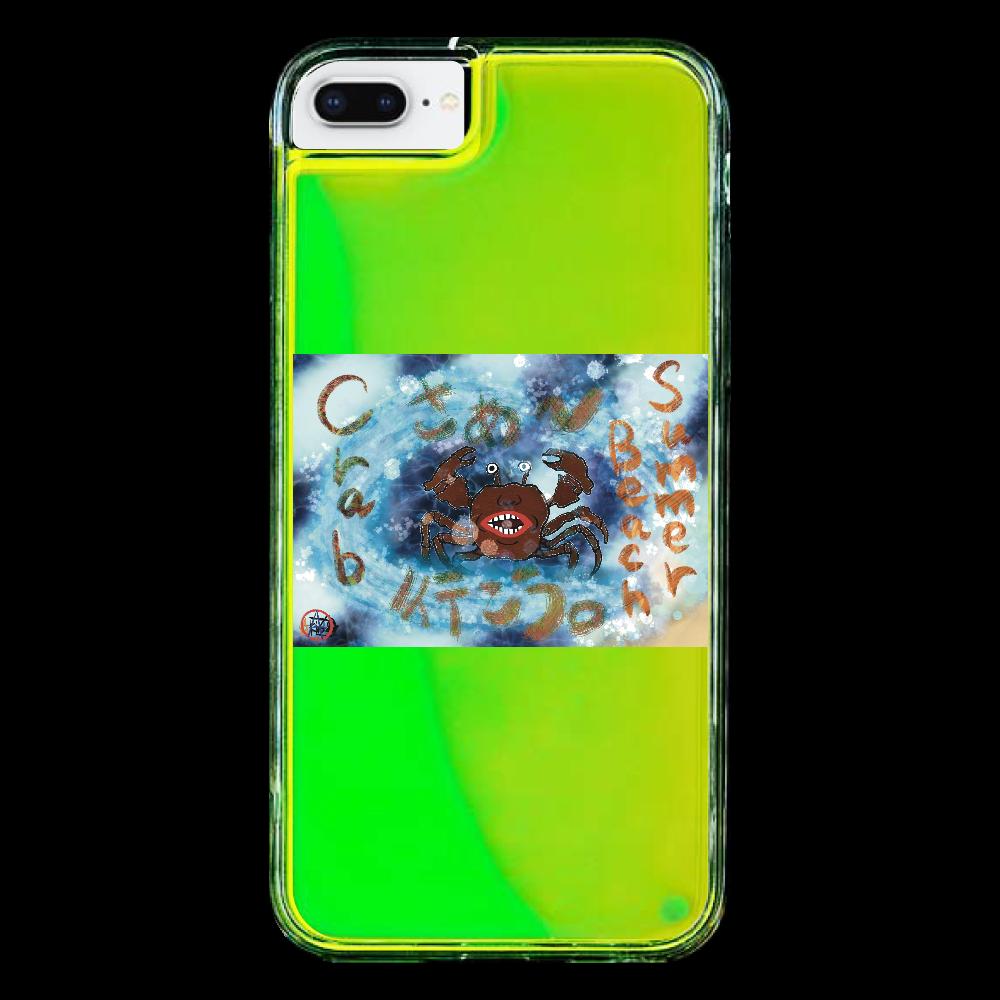 夏のビーチ「カニ」 ORILAB MARKET.Version.9 iPhone6/6S ネオンサンドケース