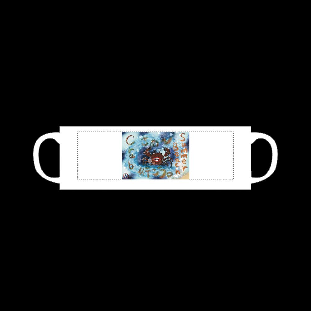 夏のビーチ「カニ」 ORILAB MARKET.Version.10 マグカップ Sサイズ