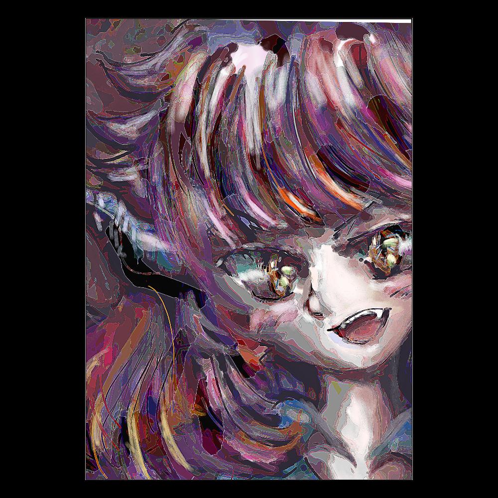 油絵風味ラグナちゃん ポスター A2サイズ